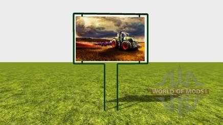Advertising sign para Farming Simulator 2017