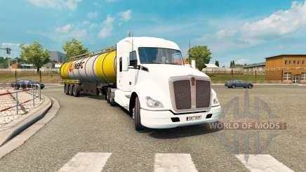 American truck traffic pack v1.3.2 para Euro Truck Simulator 2