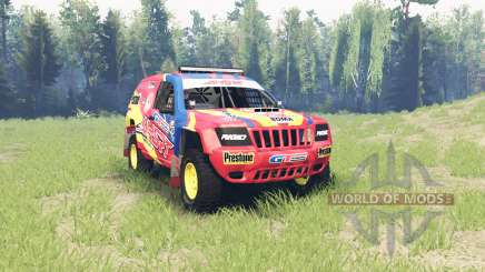 Jeep Grand Cherokee (WJ) Superwolf v1.01 para Spin Tires