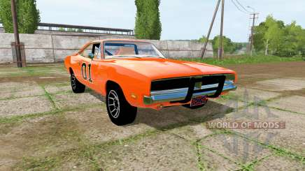 Dodge Charger RT (XS29) 1970 General Lee para Farming Simulator 2017