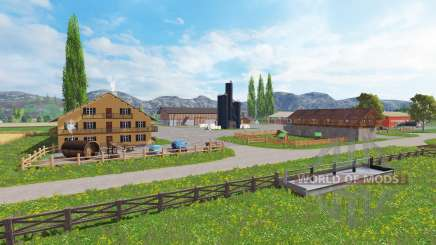District of Breisgau v1.4 para Farming Simulator 2015