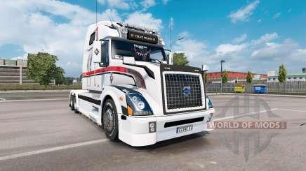 Volvo VNL 670 v1.5 para Euro Truck Simulator 2
