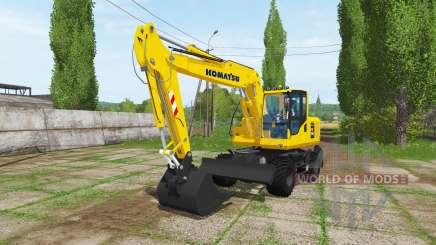 Komatsu PW 160 para Farming Simulator 2017