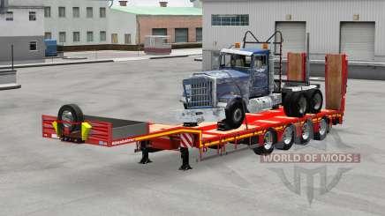 Kassbohrer with cargos v1.1 para American Truck Simulator