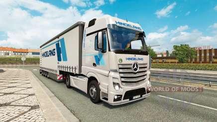 Painted truck traffic pack v2.3.1 para Euro Truck Simulator 2