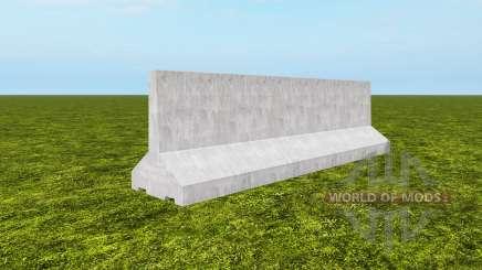 Barrier sections para Farming Simulator 2017
