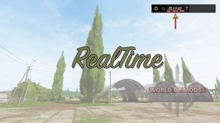 RealTime v2.0 para Farming Simulator 2017