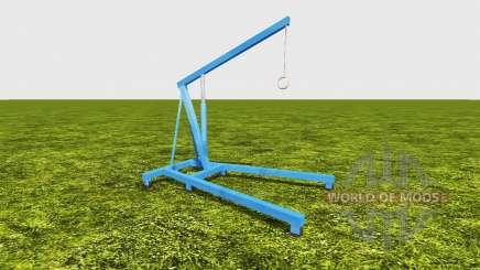 Hoisting crane para Farming Simulator 2017