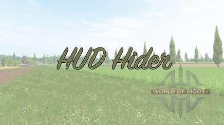 HUD Hider v1.15 para Farming Simulator 2017