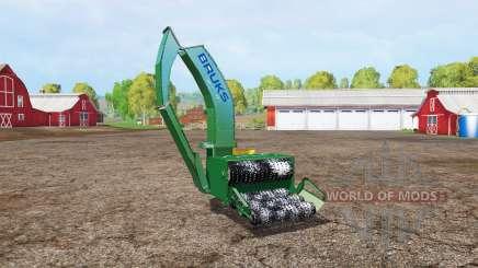 BRUKS wood crusher v1.1 para Farming Simulator 2015