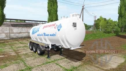Kotte Garant TSA milk para Farming Simulator 2017
