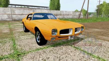 Pontiac Firebird 1970 para Farming Simulator 2017