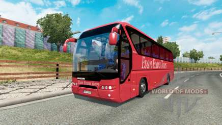 Bus traffic v1.4 para Euro Truck Simulator 2
