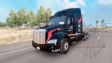 Pele M. e.Um de Caminhões no caminhão Peterbilt 579 para American Truck Simulator