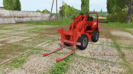 Weidemann 1502DR v2.1 para Farming Simulator 2017