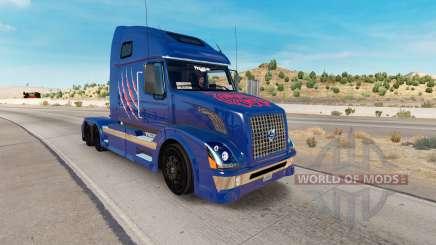 Arizona Wildcats pele para a Volvo caminhões VNL 670 para American Truck Simulator
