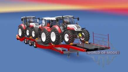 Semitrailer Steyr Multi 4115 para Euro Truck Simulator 2