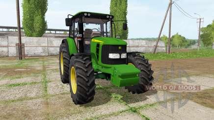 John Deere 6330 v2.0 para Farming Simulator 2017