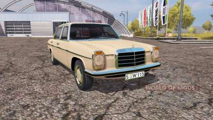 Mercedes Benz 200D (W115) para Farming Simulator 2013