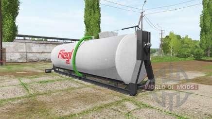 Fliegl hooklift v1.1 para Farming Simulator 2017