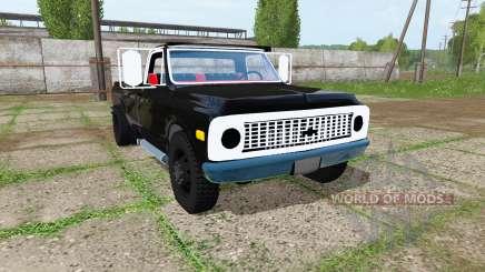 Chevrolet K10 1972 para Farming Simulator 2017