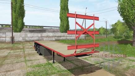 Bale semitrailer para Farming Simulator 2017