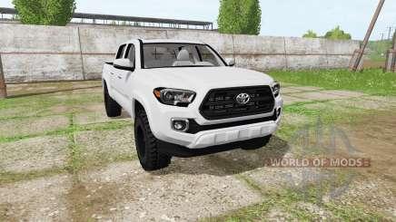 Toyota Tacoma Double Cab 2016 para Farming Simulator 2017