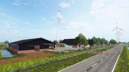 Sul-Oeste De Frísia para Farming Simulator 2017