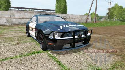 Ford Mustang Shelby GT Seacrest County Police para Farming Simulator 2017