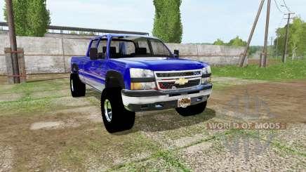 Chevrolet Silverado Crew Cab para Farming Simulator 2017