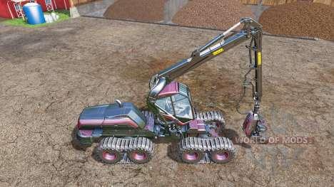PONSSE Scorpion dyeable HDR v1.1 para Farming Simulator 2015
