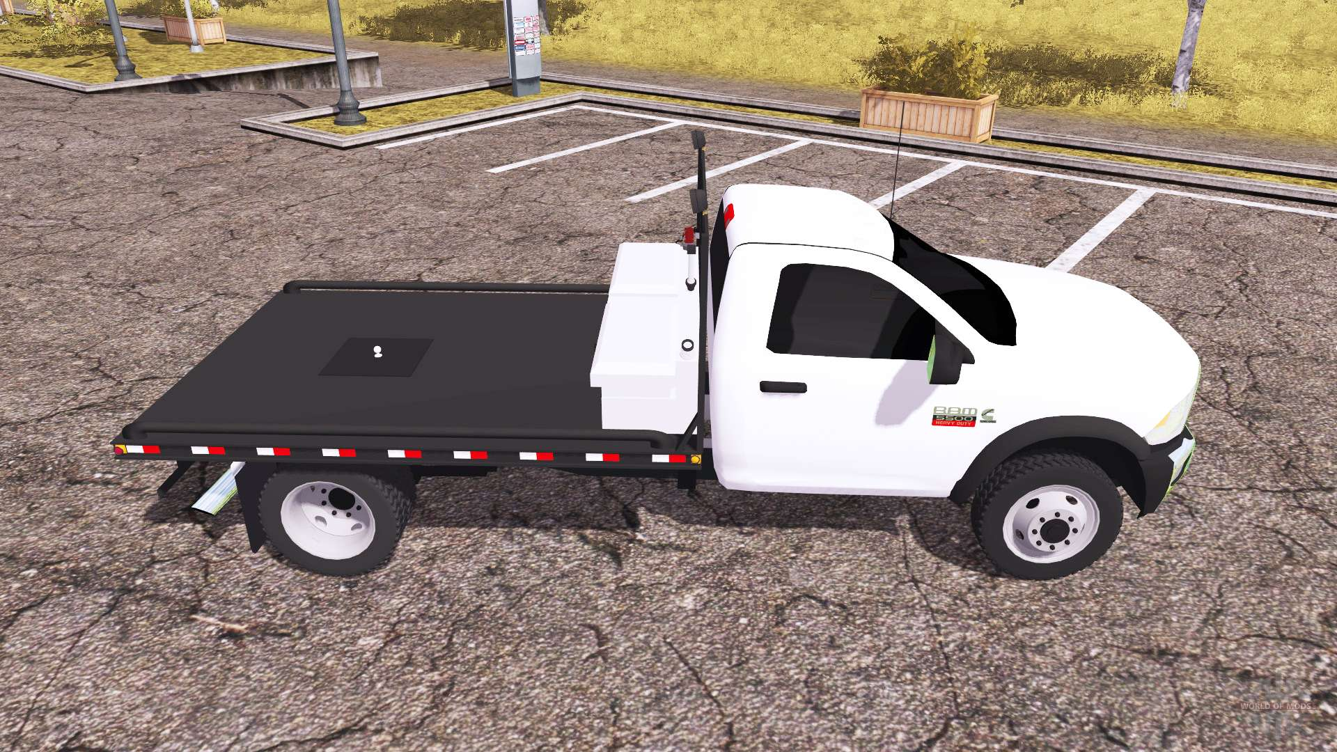 Dodge ram 5500 heavy duty flatbead para farming simulator 2013 for 5500 3