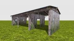 Galpão de madeira para Farming Simulator 2017