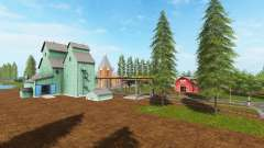 Canadian national map v1.2 para Farming Simulator 2017