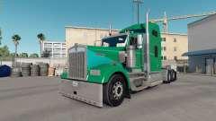Pele, Argila Verde em um caminhão Kenworth W900