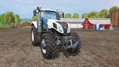 New Holland T8.435 white para Farming Simulator 2015