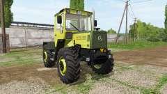 Mercedes-Benz Trac 900 Turbo Intercooler v2.2 para Farming Simulator 2017