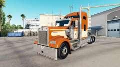 A pele de Uma Laranja no caminhão Kenworth W900