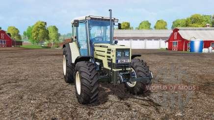 Hurlimann H488 Turbo front loader v1.2 para Farming Simulator 2015