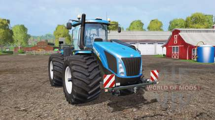 New Holland T9.565 wide tires para Farming Simulator 2015
