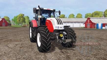 Steyr CVT 6160 v1.1 para Farming Simulator 2015