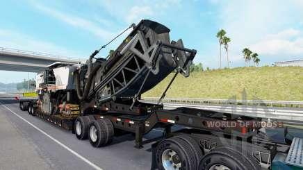 Fontaine Magnitude 55L Wirtgen v1.1 para American Truck Simulator