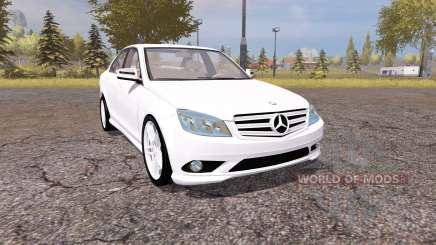 Mercedes-Benz C350 Sport (W204) para Farming Simulator 2013
