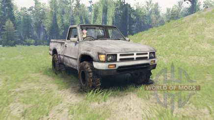 Toyota Hilux Single Cab para Spin Tires