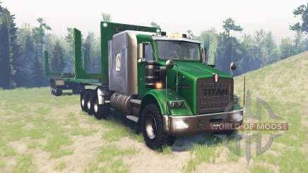 Kenworth T800 RS Titan para Spin Tires