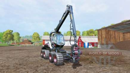 PONSSE Scorpion dyeable HDR v1.1 para Farming Simulator 2015