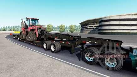 Fontaine Magnitude 55L Case IH v1.1 para American Truck Simulator