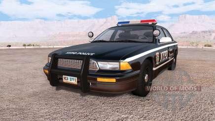 Gavril Grand Marshall NYPD v3.0 para BeamNG Drive