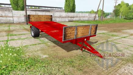 Transport trailer para Farming Simulator 2017