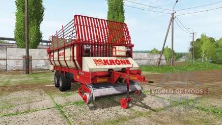 Krone Turbo 3500 v1.1 para Farming Simulator 2017